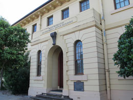 Maryborough Government Offices Entrance