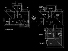Uanda Floor plans – before and after